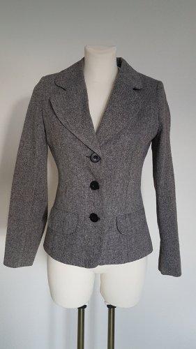 Clockhouse Wool Blazer grey wool