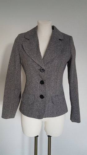 Clockhouse Blazer in lana grigio Lana