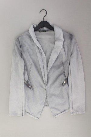 Blazer Größe 38 grau aus Baumwolle