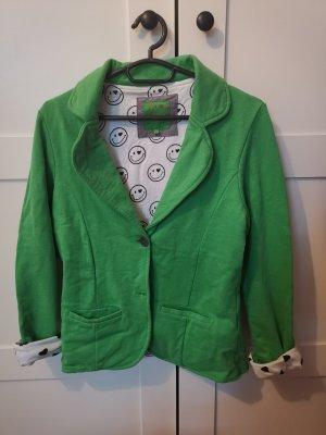Marie Lund Jersey blazer groen