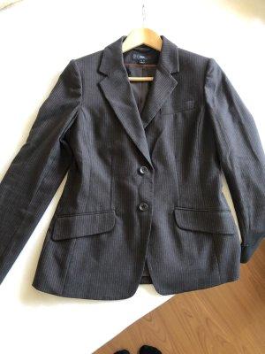 Blazer H&M 36 Nadelstreifen Mokka