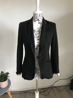 H&M Blazer largo negro