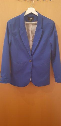 H&M Klassischer Blazer blu