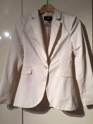Blazer H&M creme weiß hellbeige 34