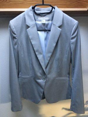 Blazer H&M hellgraumeliert Größe 38 neuwertig
