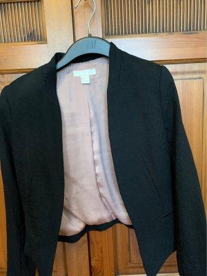 H&M Short Blazer black