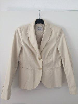 Esprit Blazer unisexe beige clair coton