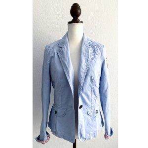 Blazer hellblau blau babyblau Bonita Herbst Sommerblazer Größe 38 M