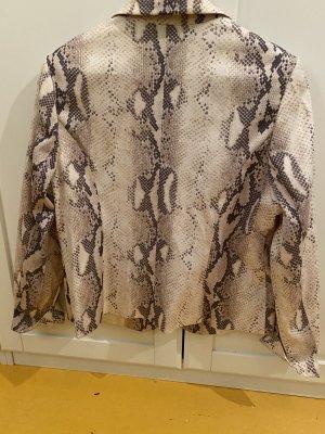 Biba Blazer court blanc cassé polyester