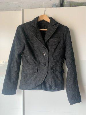 Amisu Tweed Blazer anthracite