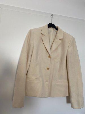 Wool & Cashmere Blazer in lana crema