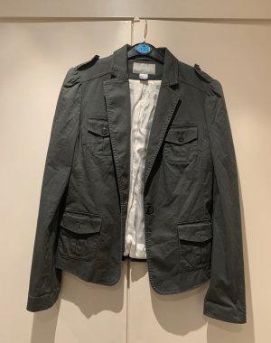 Blazer in Khaki von H&M, Größe 34