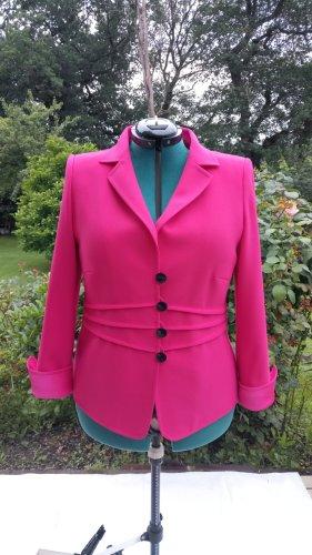 Anna v. Braun Klassischer Blazer roze-magenta