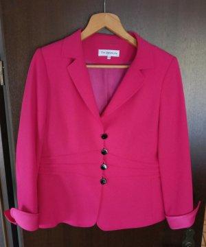 Anna v. Braun Klassischer Blazer roze-magenta Polyester