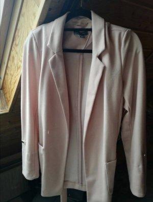 Primark Blazer de tela de sudadera color rosa dorado