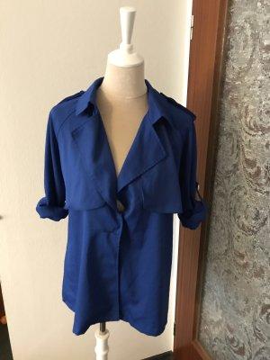 Keine Marke Tweed Blazer blue
