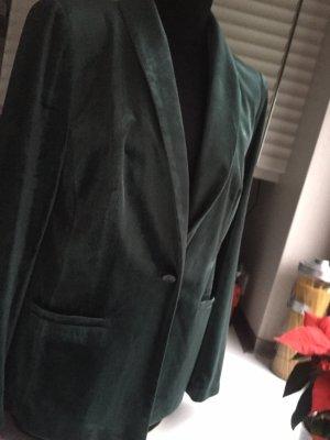 Bruno Banani Lange blazer donkergroen
