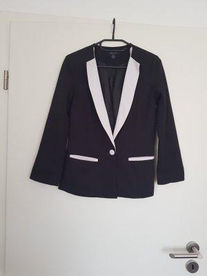 Blazer in schwarz weiß von Amisu Gr. 34