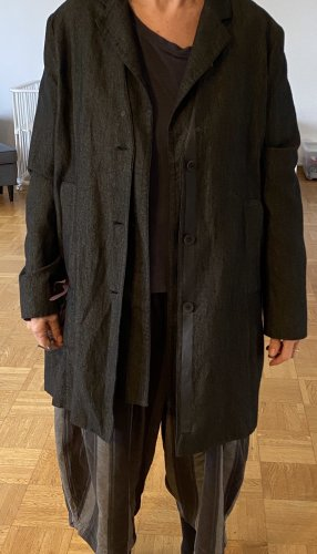 Anette Görtz Blazer lungo marrone-nero