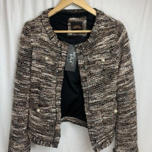 Viva Couture Knitted Blazer multicolored