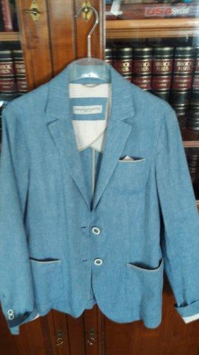 Made in Italy Kurtka przejściowa błękitny