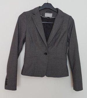 H&M Blazer stile Boyfriend grigio-grigio scuro