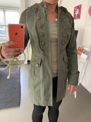 Apart Militair jack groen-grijs-khaki