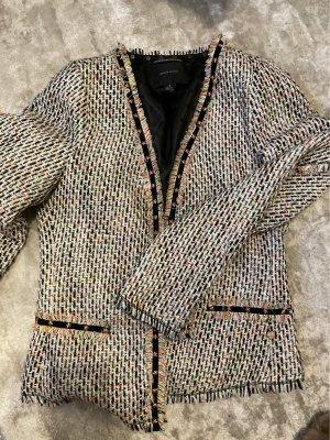Maison Scotch Tweed Blazer multicolored