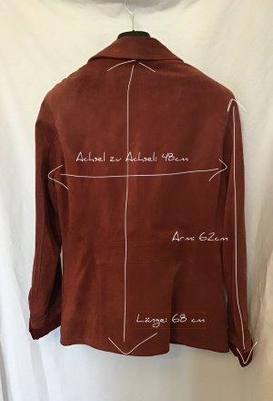 Vintage Blazer en cuir multicolore cuir