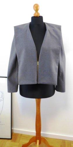 COS Blazer court gris-gris foncé polyester