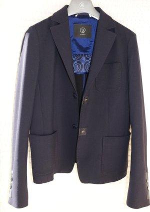 Bogner Blazer in jersey blu scuro