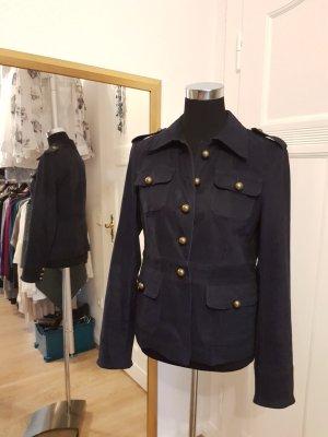 Blazer-Jacke im Uniformstil, Gr. 38