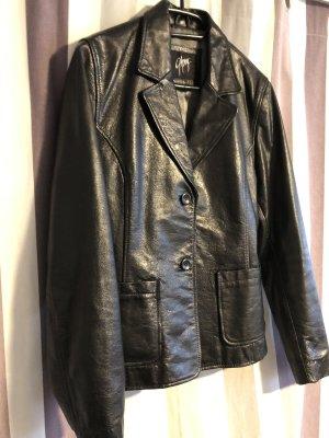 Gipsy Leather Blazer black leather