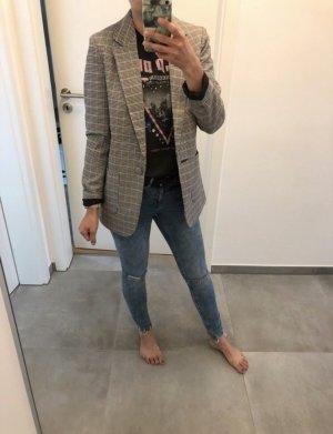 Blazer Jacke Mantel Cardigan kariert 34 36 xs s Vero moda Mode Fashion Blogger