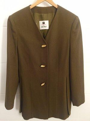Gil Bret Between-Seasons Jacket olive green wool