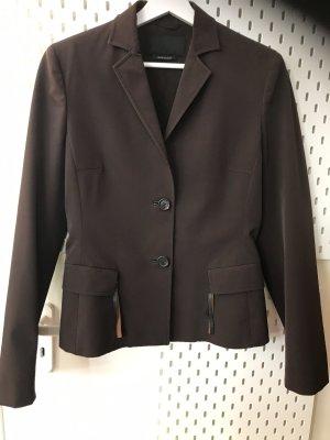 Prada Short Blazer dark brown
