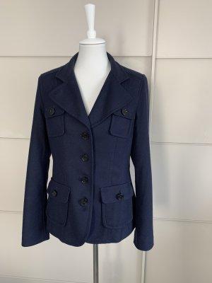 Blazer/ Jacke St.Emile 40 Wolle Cashmere blau