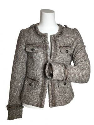 Street One Tweed blazer veelkleurig