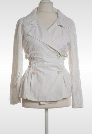 Blazer Jacke tailliert von Ermanno Scervino gr. 38 off white