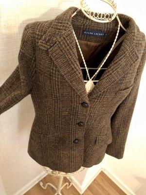 Blazer Jacke Wollblazer Ralph Lauren 14 40 42 L braun