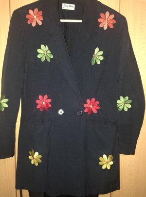 Blazer Jacket Jacke selten mit Blumen Gr. 38