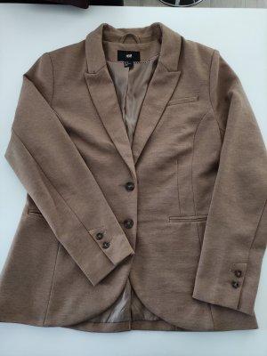 H&M Jersey blazer beige