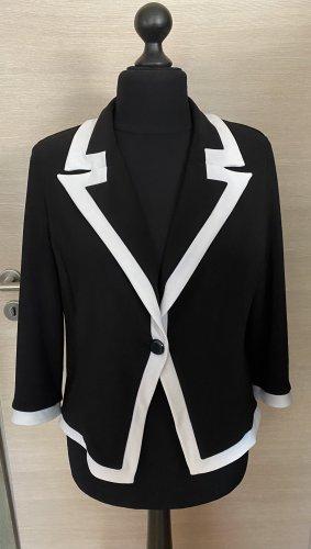 Joseph Ribkoff Jersey Blazer black-white spandex