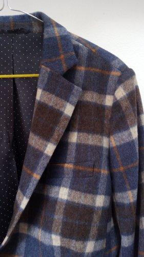 van Laack Tweed blazer oranje-leigrijs