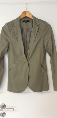 Ann Christine Sweatblazer groen-grijs-khaki