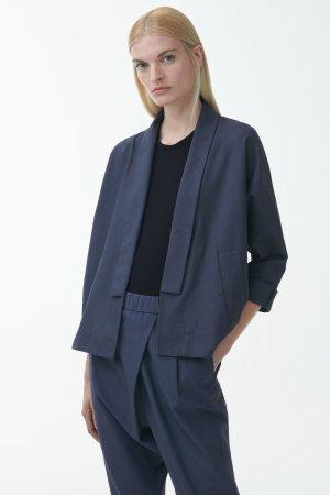 Blazer Kimono Jacke aus Biobaumwolle von COS Gr. S nagelneu Kollektion Herbst