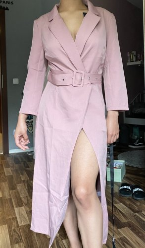 Blazer Kleid alt rosa