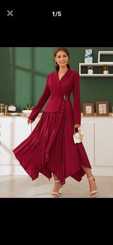 Blazer Kleid mit eingekerbten Kragen