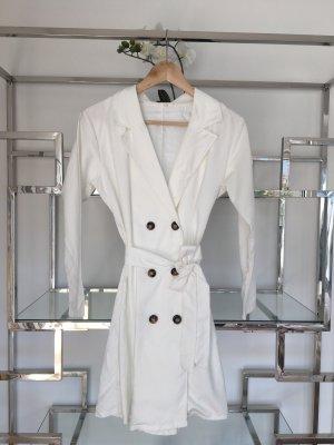 Abito blusa camicia bianco-bianco sporco Lyocell