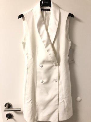 Zara Robe manteau blanc